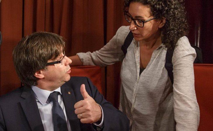 ERC y la lista de Puigdemont no mantienen la misma visión sobre la consecución del procés