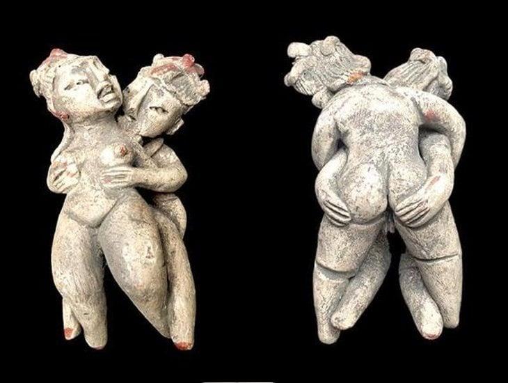 En la prehistoria se representaba el sexo en el arte