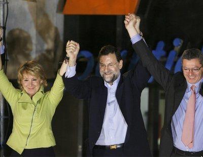 Aguirre organizó mítines para ganar con una empresa a la que dio 13 millones de dinero público