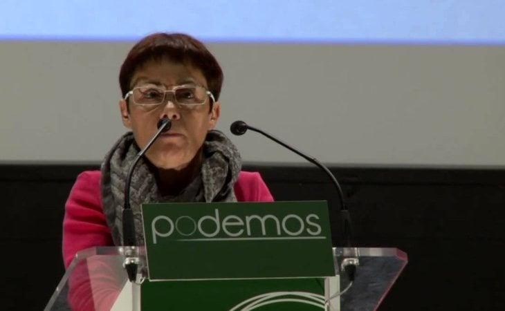 La diputada de Podemos, Carmen San José, critica que las cuentas, a su juicio, no cuadran