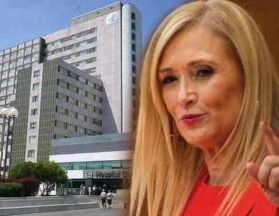 Cifuentes demolerá todo el hospital de La Paz para volver a construirlo de nuevo