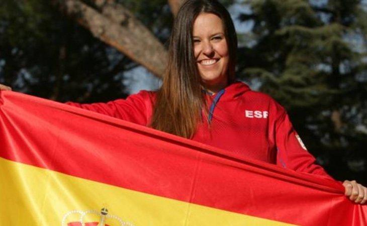 Astrid Fina es la abanderada española de los 'Juegos Paralímpicos 2018'