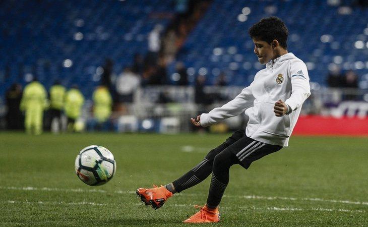 Cristiano Ronaldo Jr. quiere seguir los pasos de su padre en el mundo del fútbol