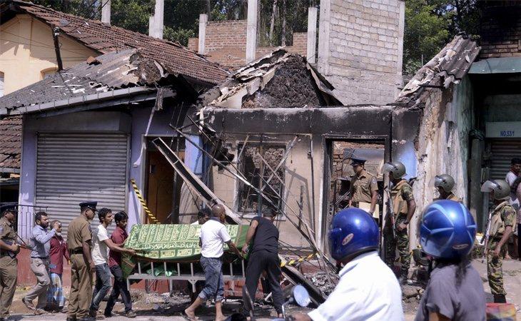 Sri Lanka lleva una semana sumida en el caos