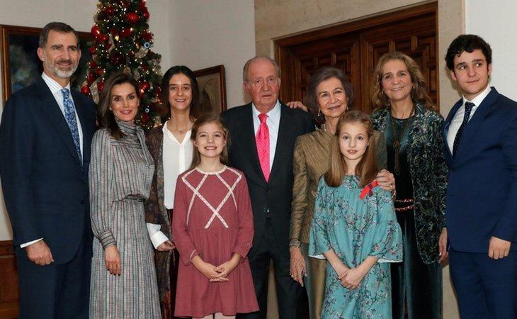 La fotografía de la familia real sin la Infanta supuso un jarro de agua fría