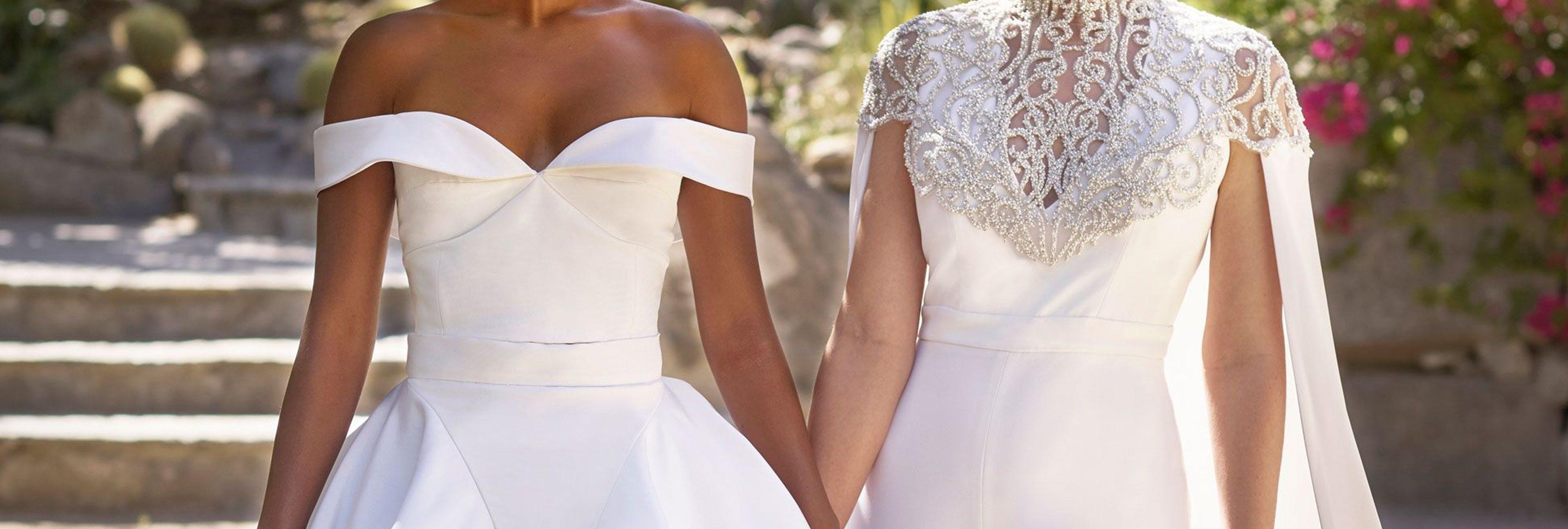 Una tienda de vestidos de novia prefiere cerrar a vender a mujeres lesbianas