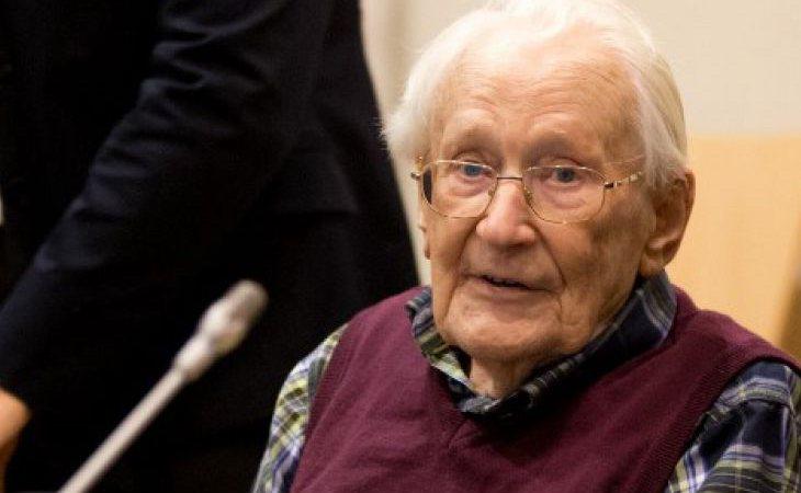 Oskar Gröning admitió haber participado en el asesinto de 300.000 judíos en Polonia