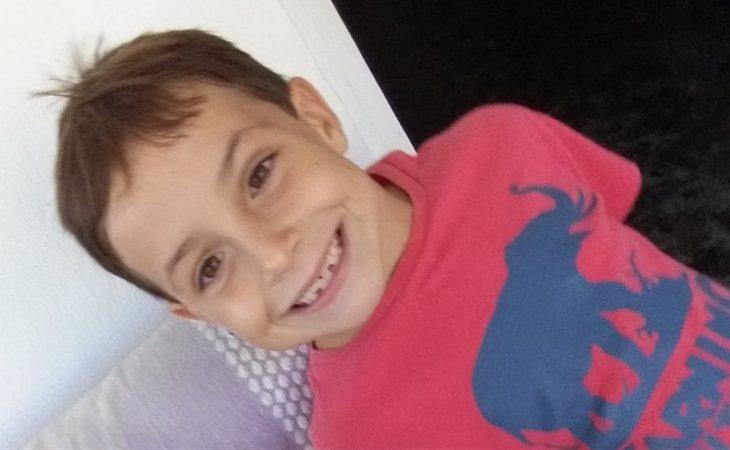 Gabriel, el pescaito de 8 años