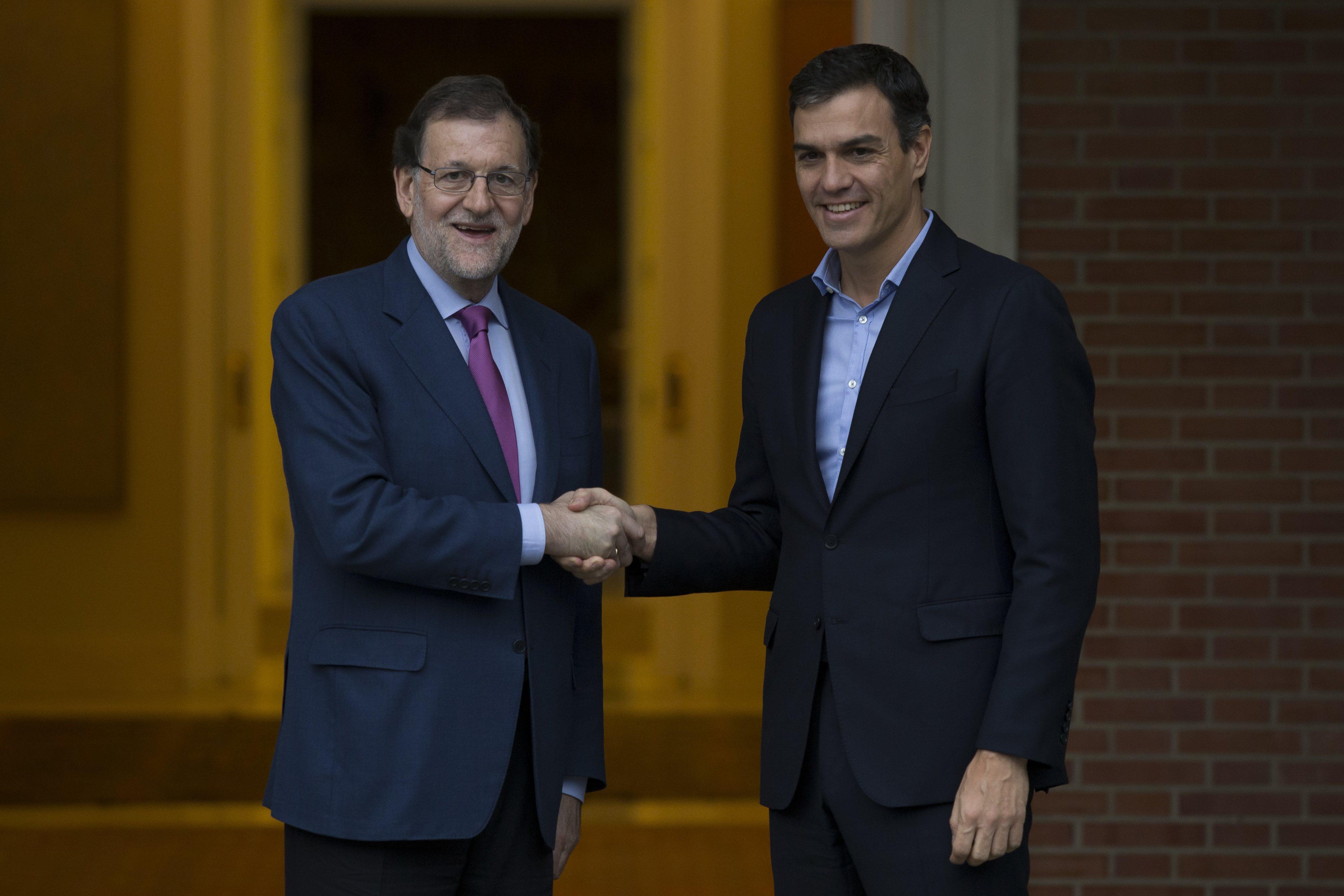 PP y PSOE firmaron el pacto antiterrorista