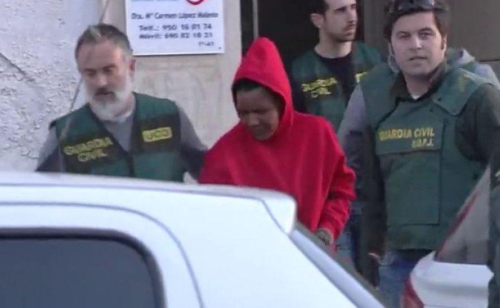 Ana Julia, detenida por la Guardia Civil