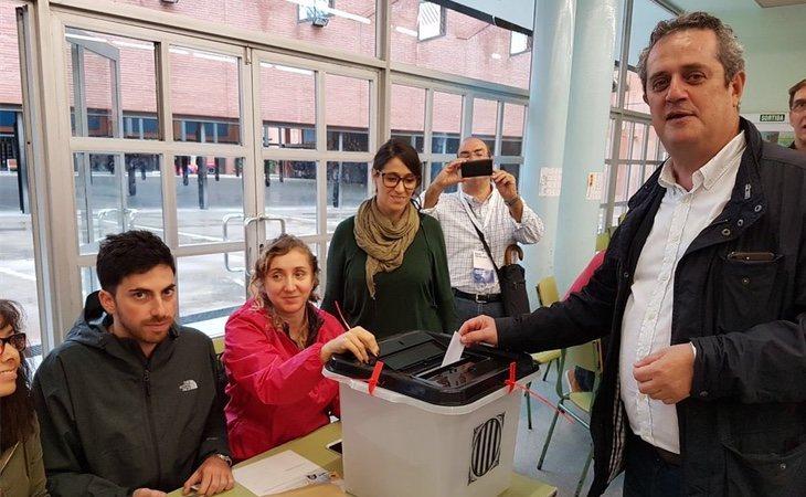 Forn permanece en prisión desde el 2 de noviembre por el referéndum del 1-O
