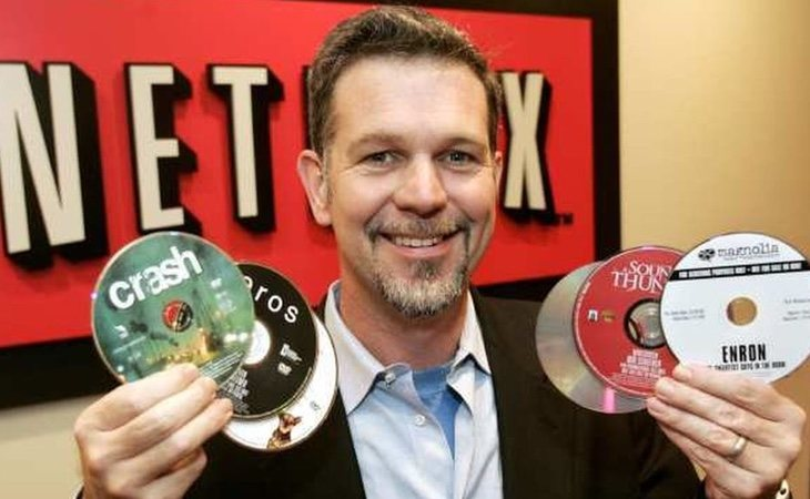 Netflix empezó enviando películas y series por correo