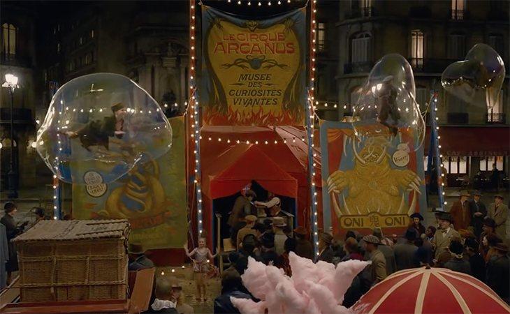 ¿Qué tiene que ver Credence con el Circus Arcanus?