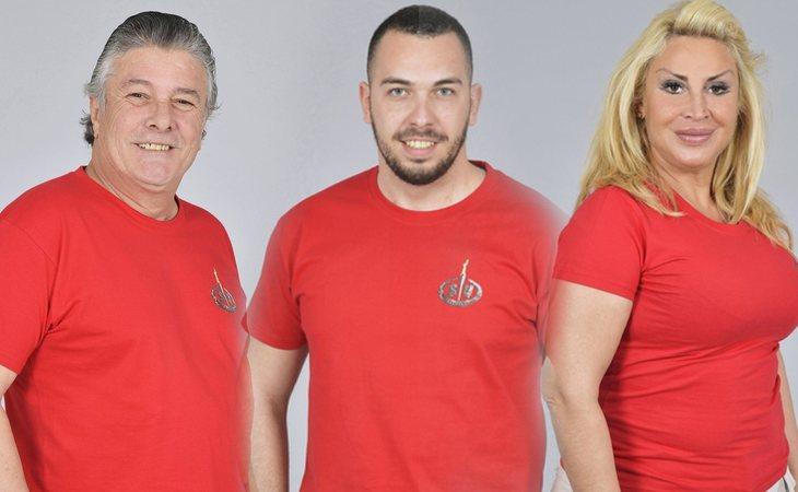 Francisco, Alberto Isla y Raquel Mosquera, concursantes de 'Supervivientes 2018'