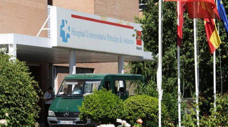 La mujer fue atendida en el Hospital Alcalá de Henares