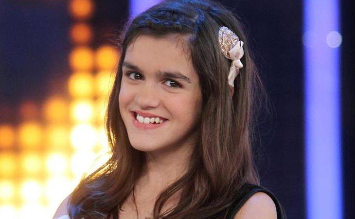 Amaia Romero concursó en 'El número uno' con 13 años
