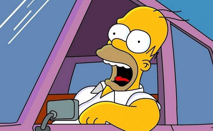 Homer Simpson es el alocado padre de 'Los Simpson'
