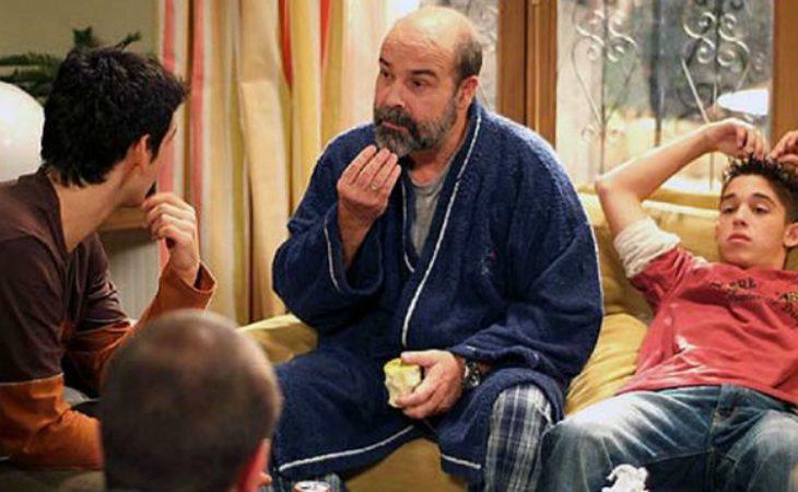 Antonio Resines se metió en la piel de Diego Serrano en 'Los Serrano'