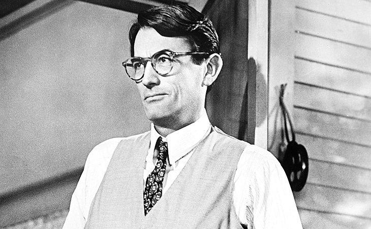 Gregory Peck en 'Matar a un ruiseñor'