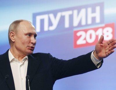 Putin arrasa y gana sus cuartas elecciones en Rusia con el 76% de los votos