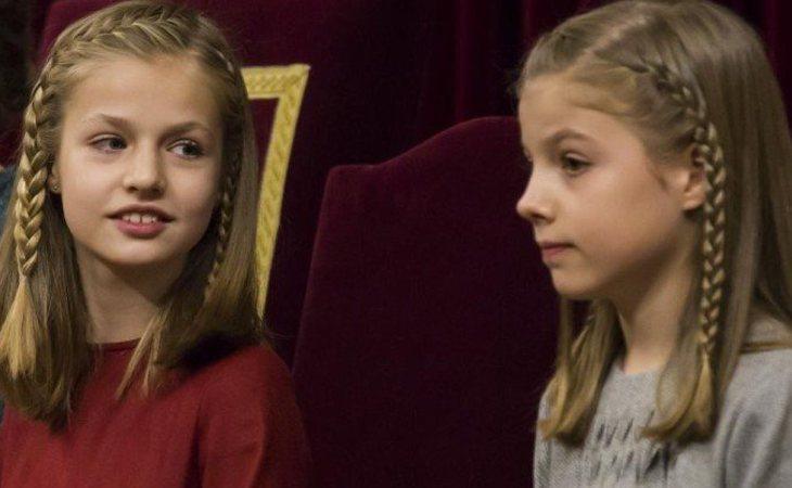 La Princesa Leonor y la Infanta Sofía, las más fans de 'OT 2017'