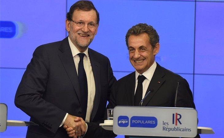 Rajoy y Sarkozy se han dejado ver juntos en varias ocasiones en restaurantes de Madrid y París