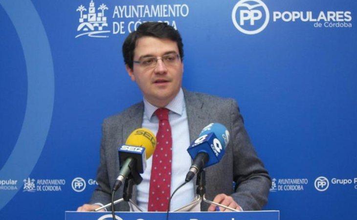 José María Bellido en una comparecencia municipal