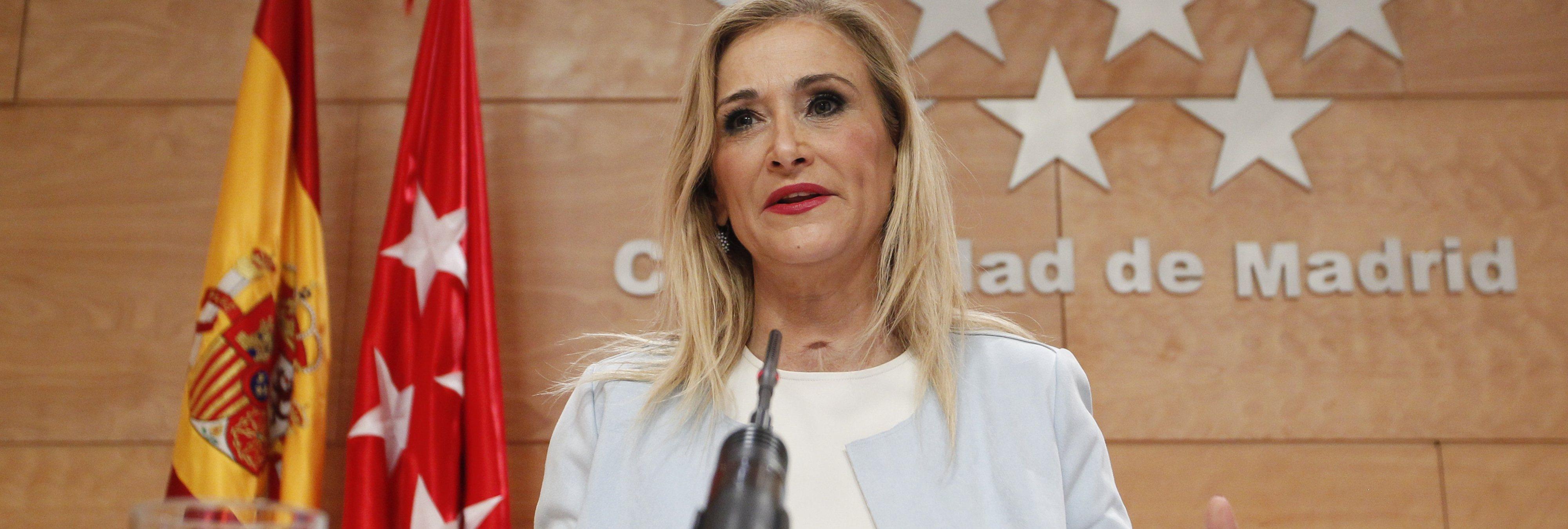Cristina Cifuentes obtuvo el máster en la URJC con notas falsificadas