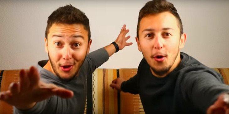 Los gemelos Mateo y Lucas