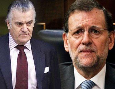 Bárcenas borró un pago de 12.600 euros a Rajoy en los papeles que entregó al juez