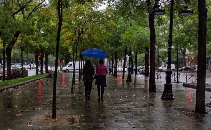 El centro de la península sufrirá lluvias fuertes y persistentes