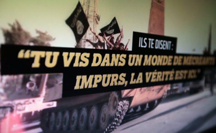 El autodenominado Estadoi Islámico cuenta con gran soporte para comunicarse en lengua francesa