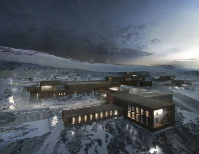 Parece un hotel cinco estrellas en un resort de esquí: es una cárcel a estrenar en 2019