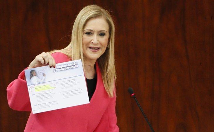 Cristina Cifuentes podría haber cometido falsedad documental