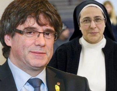 Sor Lucía Caram compara a los presos catalanes con el martirio de Jesucristo