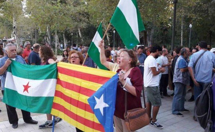 El independentismo catalán y andaluz quieren sumar fuerzas