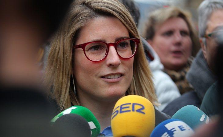 Elsa Artadi, portavoz de JuntsxCat, apuesta por investir a Puigdemont
