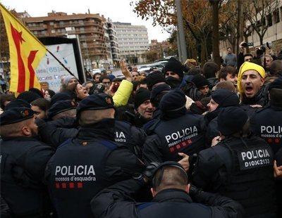 Los Mossos, preocupados por la tensión creciente en Cataluña