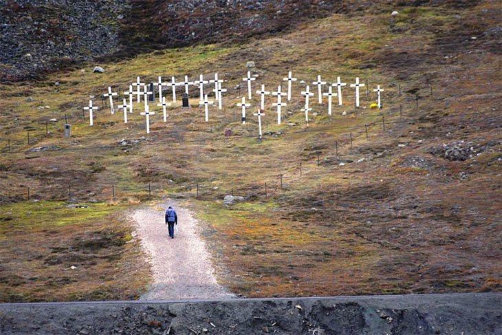 El cementerio de Longyearbyen no acepta mas residentes