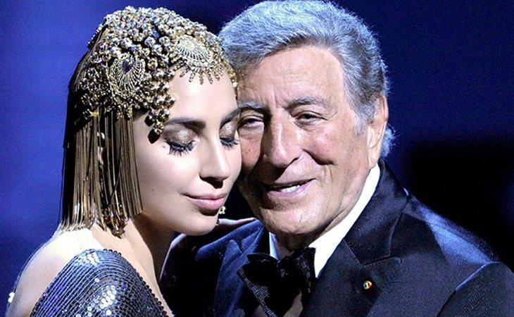 Lady Gaga junto a Tony Bennett, dos maestros del jazz