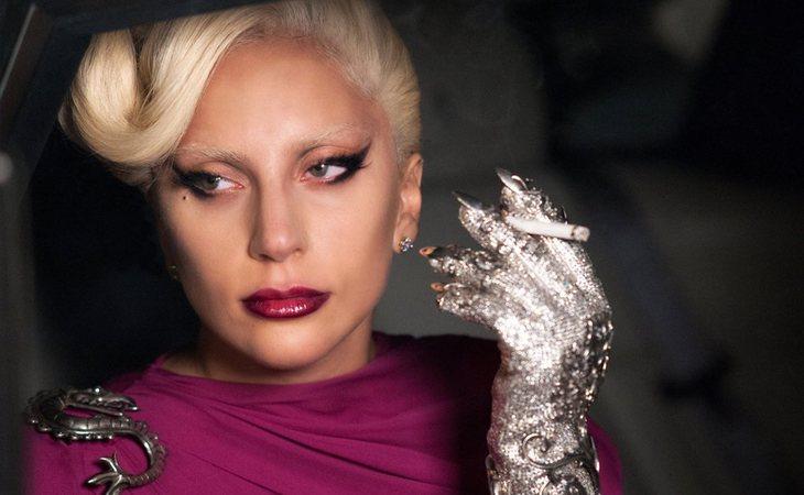 Lady Gaga protagonizó la quinta temporada de 'American Horror Story'