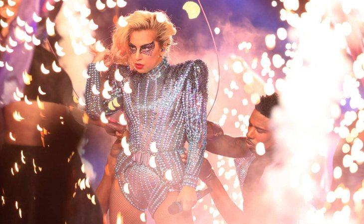 Lady Gaga en la LI Super Bowl