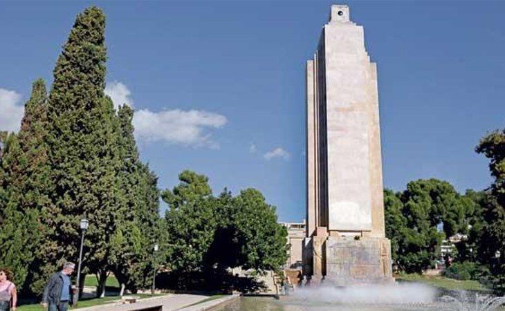 'Sa Feixina', el monumento franquista balear más importante, fue protegido por Patrimonio para evitar su derribo