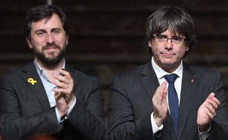 Puigdemont y Comín han presentado una querella contra Ana Rosa Quintana