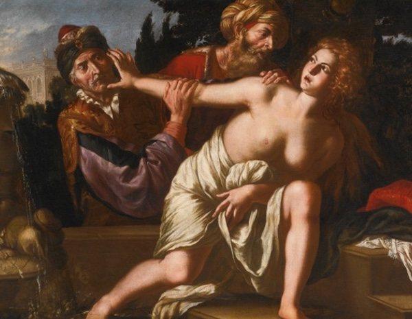 'Susana y los viejos' de Giovanni Francesco Guerrieri