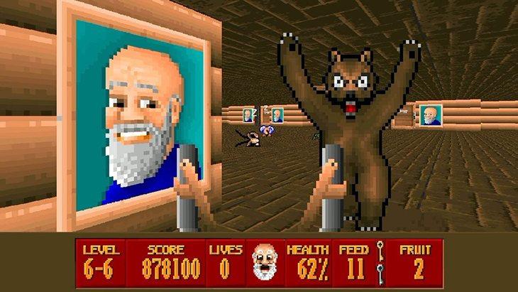 ¿'Wolfenstein 3D' eres tu? ¿Qué te han hecho?