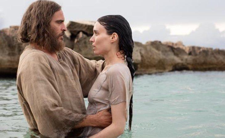 Jesús y María Magdalena en un fragmento de la película 'María Magdalena'