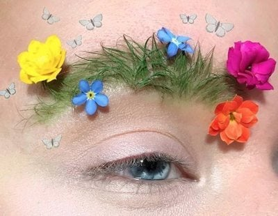 'Cejas jardineras', la nueva moda de esta primavera