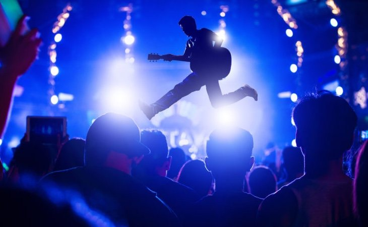 Un concierto aumenta un 25% nuestro nivel de bienestar