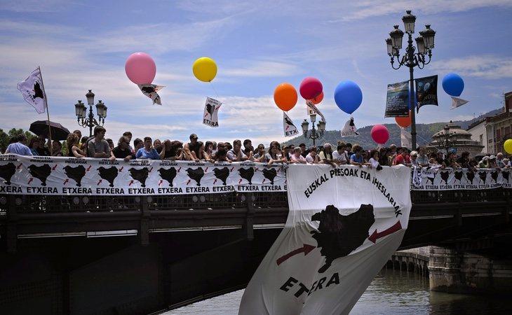 La sociedad vasca lleva años pidiendo el acercamiento de los presos etarras